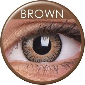 3 Tones Brown Contact Lenses
