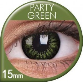 Party Green Coloured Lenses