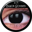 Black Screen Contact Lenses