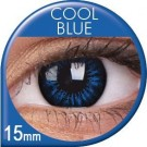 Cool Blue Coloured Contact Lenses